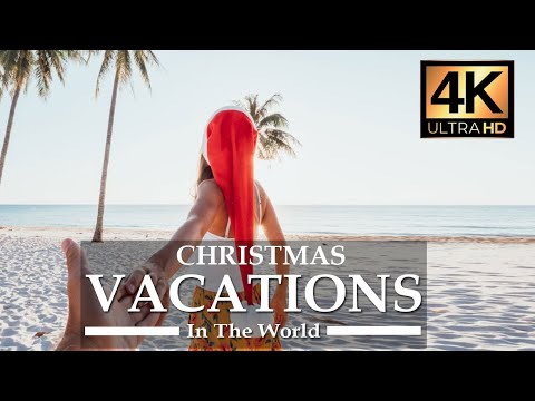 Best Christmas Vacations Clips {4K UltraHD} – Best Video for Families & Friends | ScreenSaver, TV
